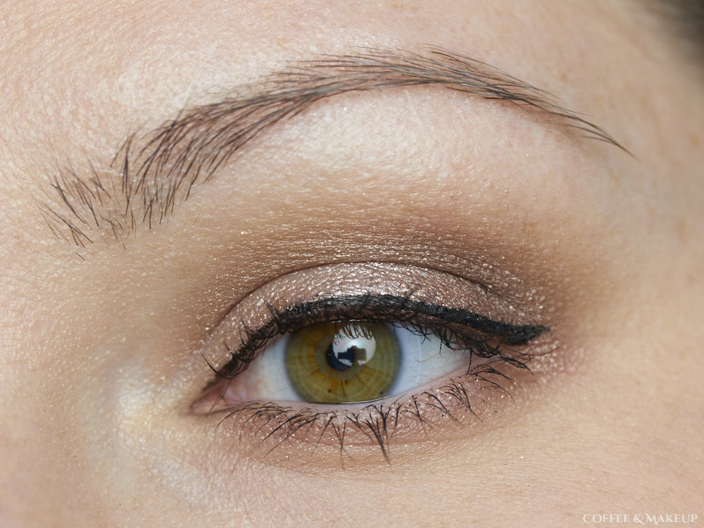 maybelline color tattoo eye chrome review coffee makeup