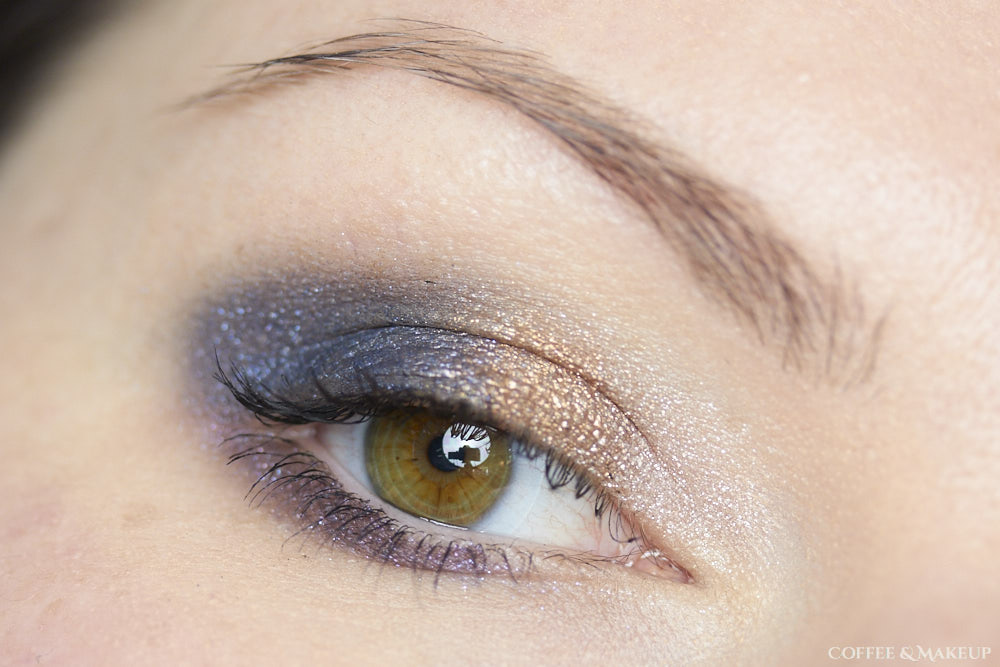 Maybelline Color Tattoo Eye Chromes Look