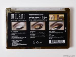 Milani Everyday Eyes 02 Bare Necessities Eyeshadow Palette