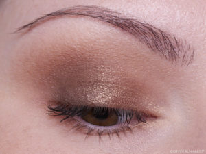 Covergirl Trunaked Goldens Eyeshadow Palette Look