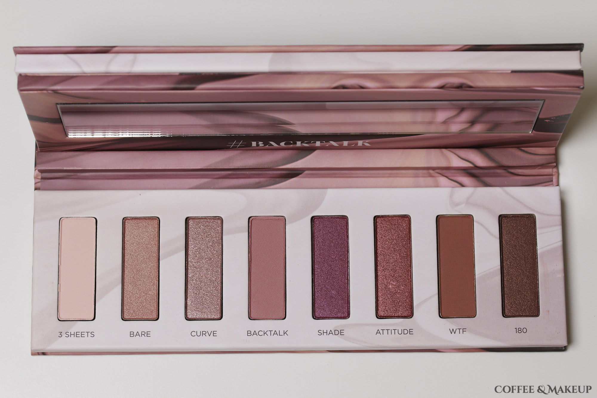 Urban Decay Backtalk Palette