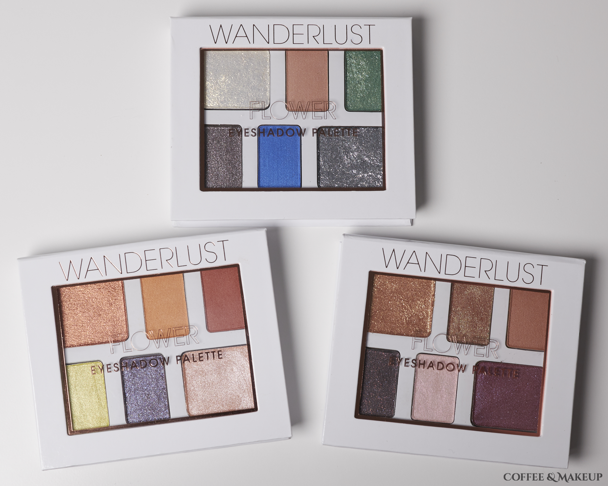 Flower Beauty Wanderlust Eyeshadow Palettes