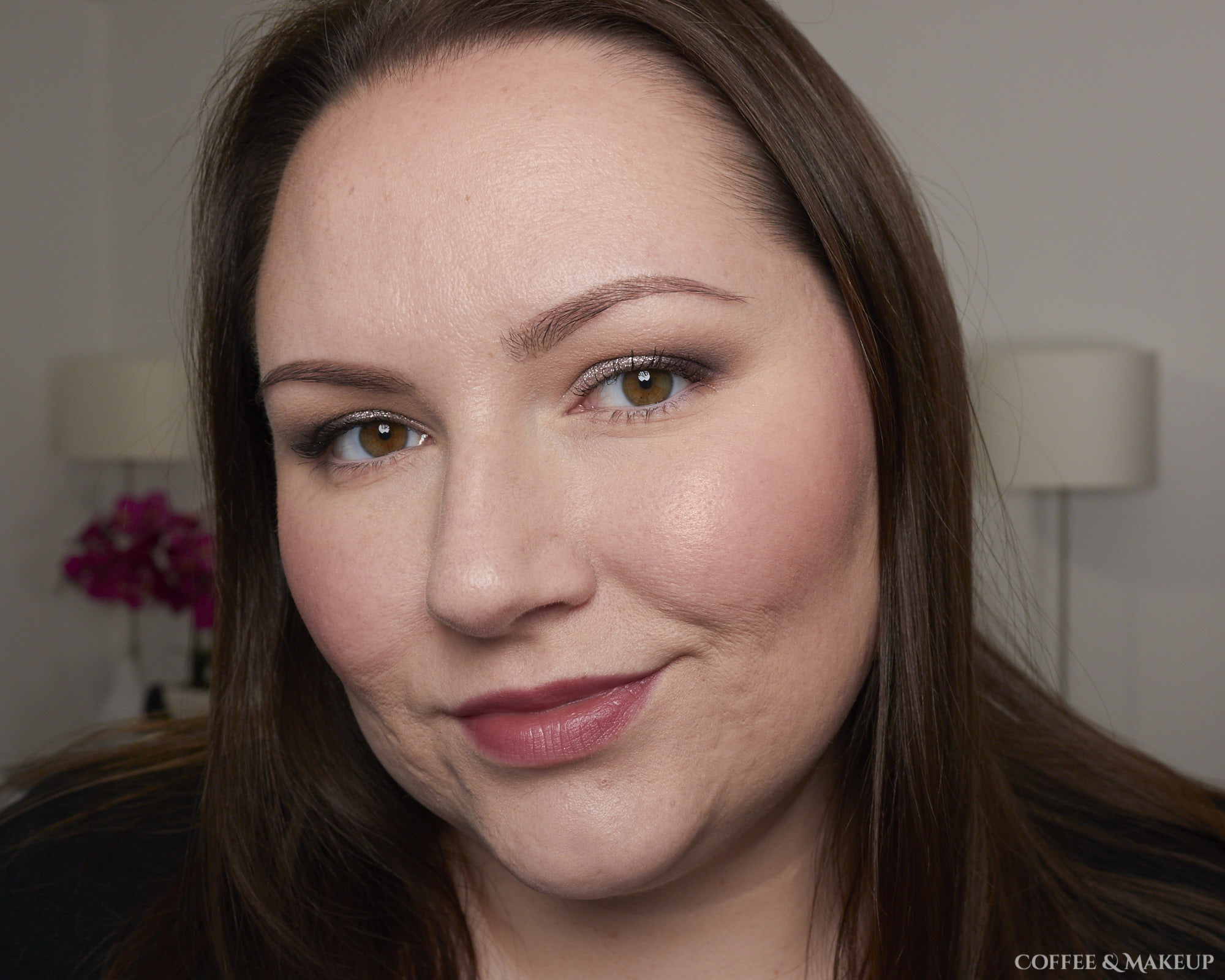 Wearing Loreal Enchanted Paradise Scented Blush in Fantastical