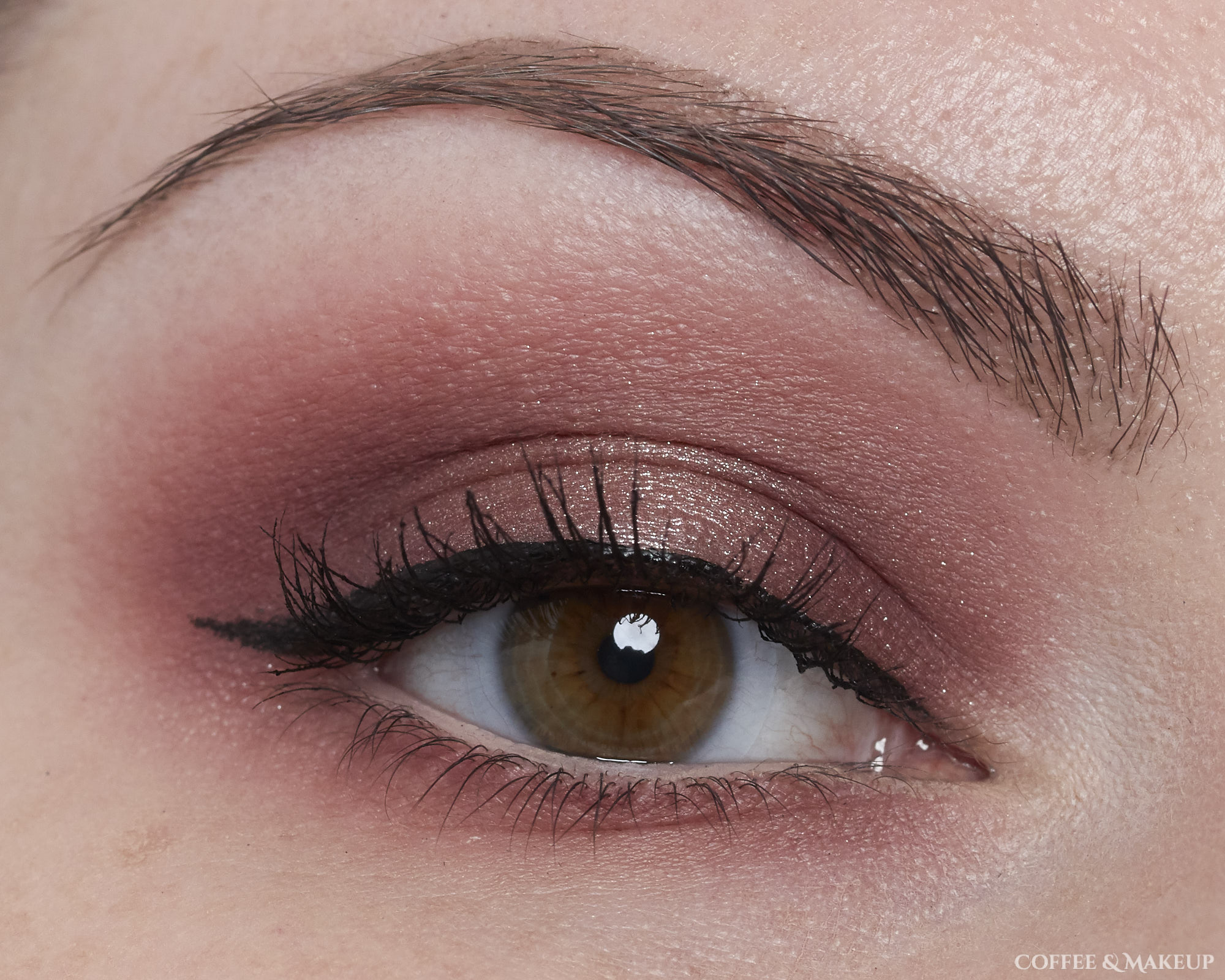 EOTD Ft. ColourPop She's A Rainbow Palette, Maybelline Diamond District Palette, Essence Melted Chrome Eyeshadow