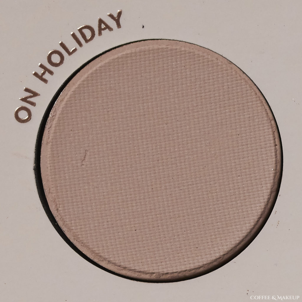 On Holiday | ColourPop Bare Necessities Palette