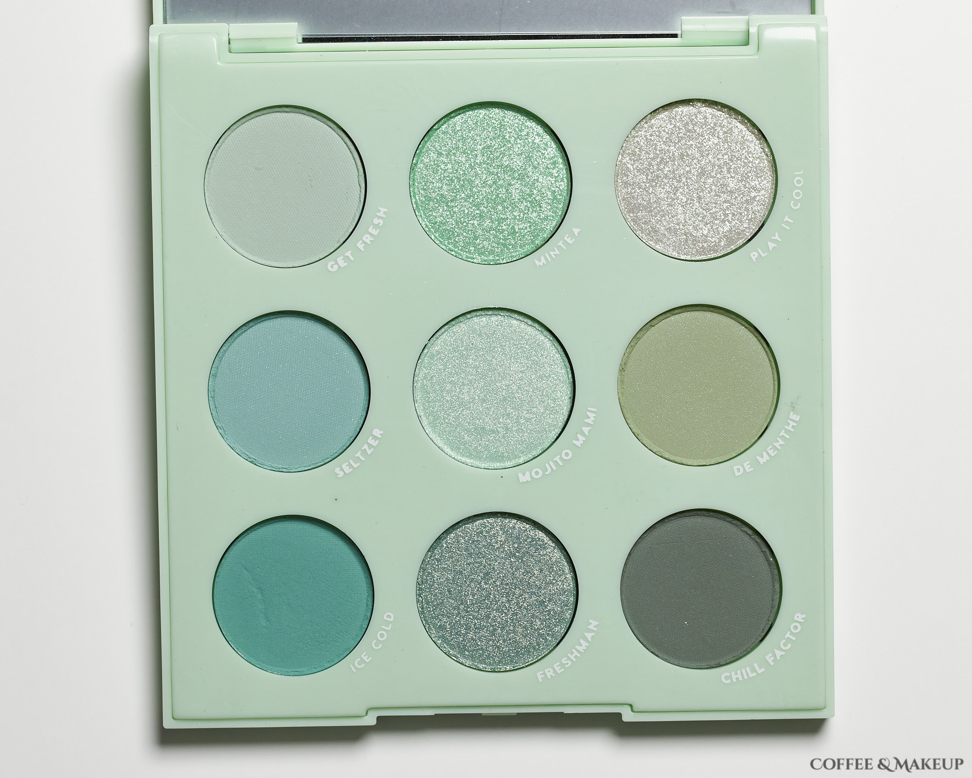 ColourPop Mint To Be Palette