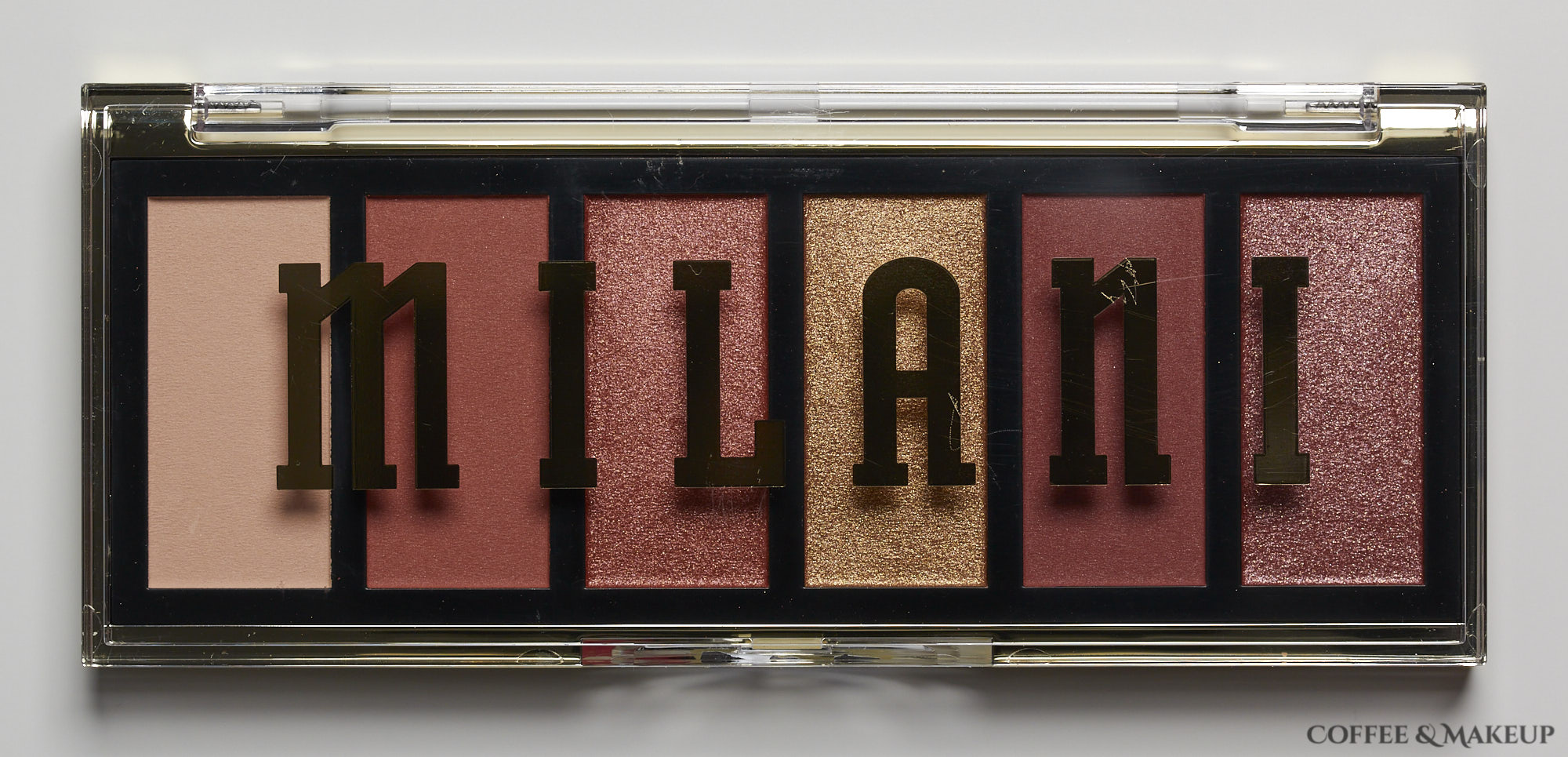 Milani Burning Desire Most Wanted Eyeshadow Palette
