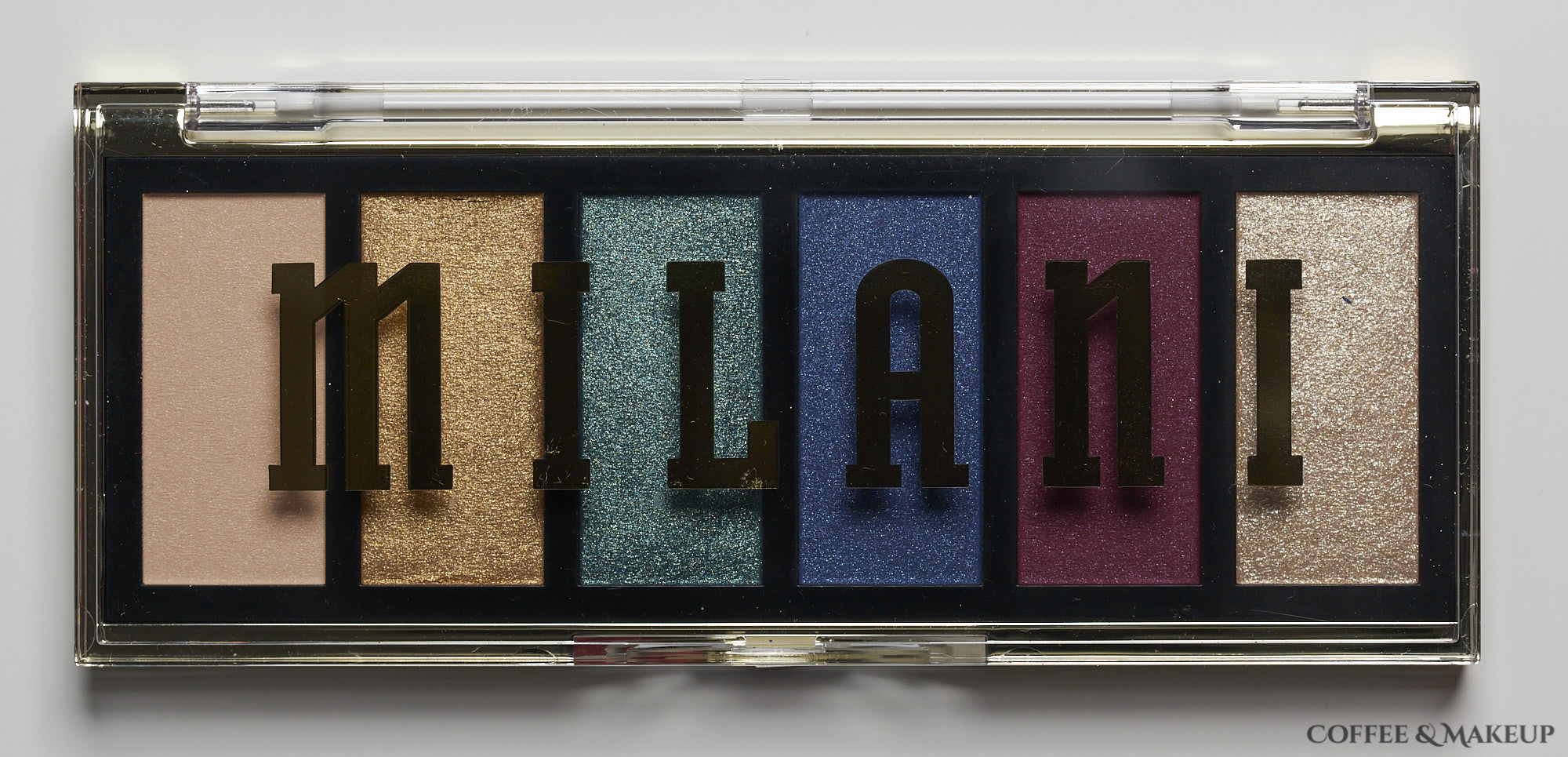 Milani Jewel Heist Most Wanted Eyeshadow Palette