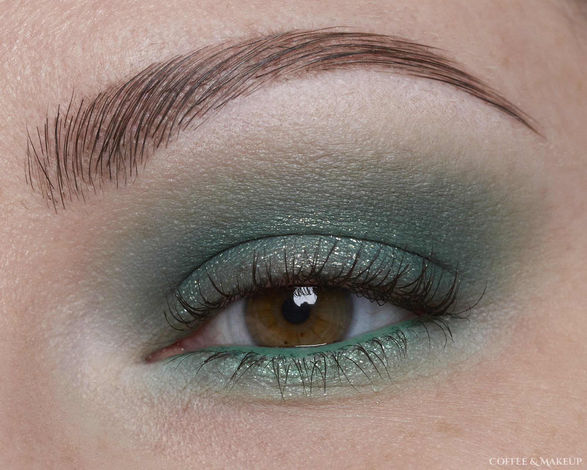 Forest Green Eyeshadow Look