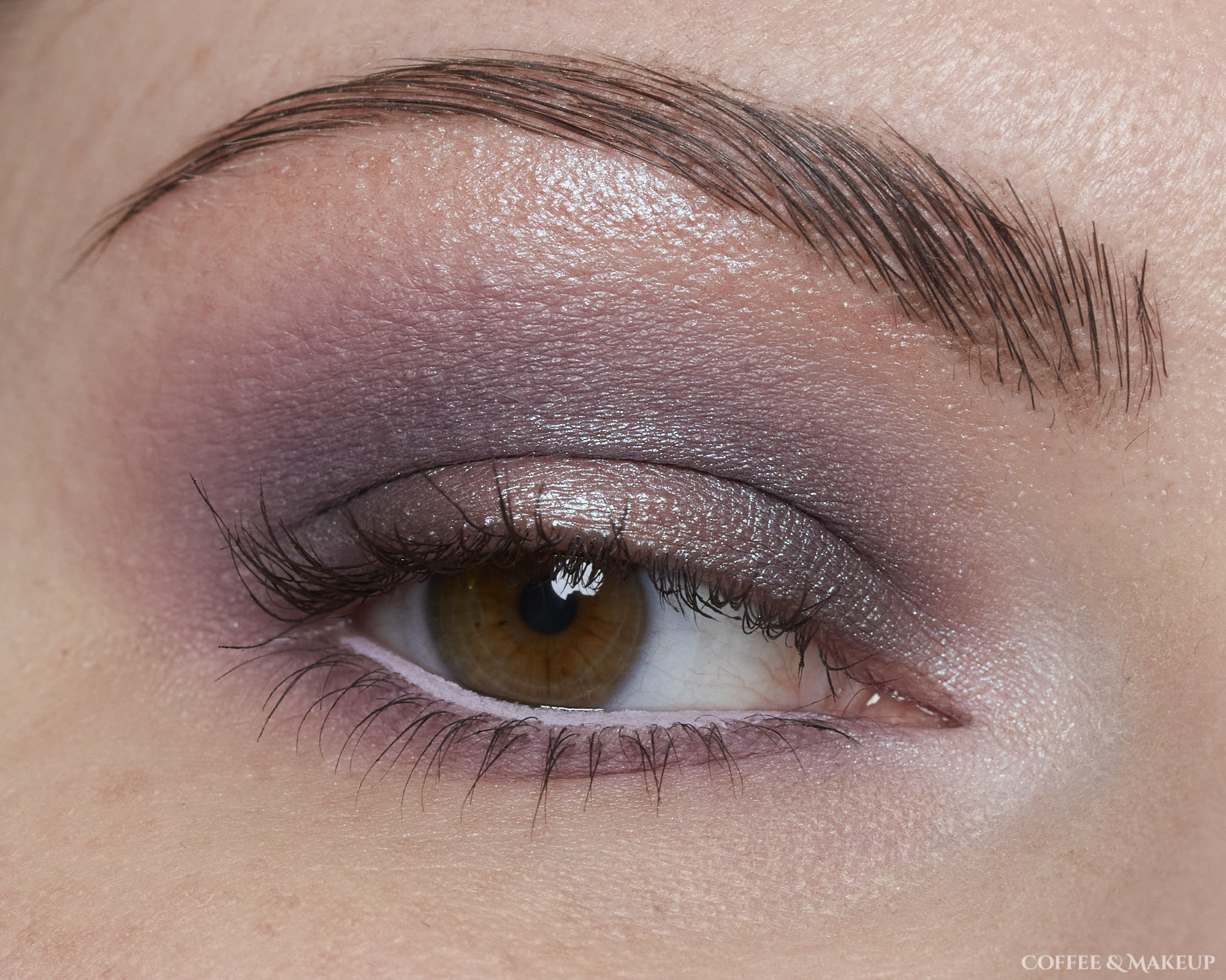 Dusty Lilac Eyeshadow Look