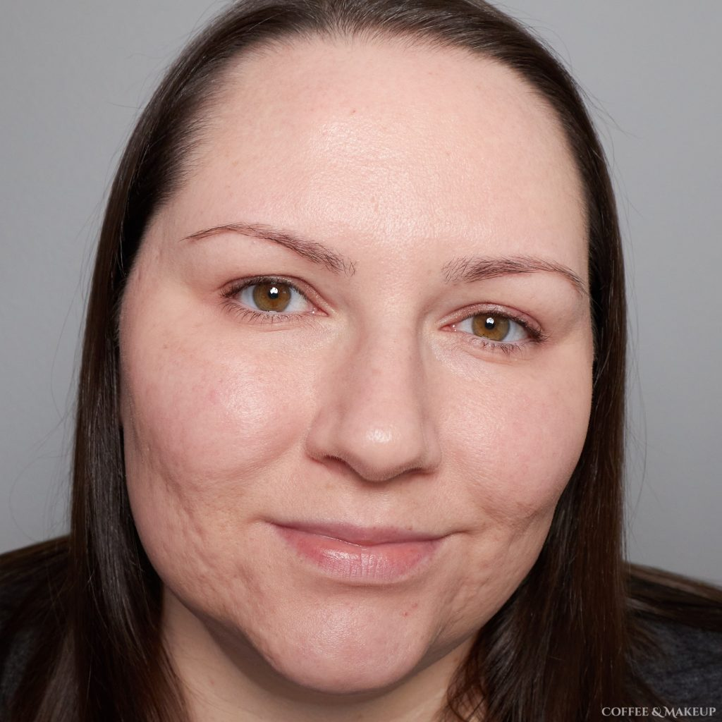 After   Maybelline Dream Radiant Liquid Foundation