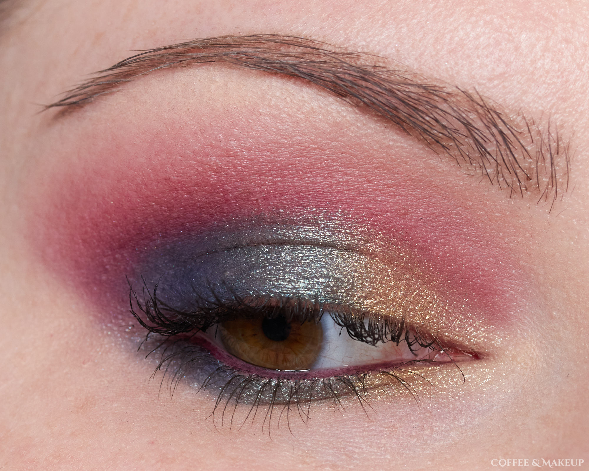 Milani Jewel Heist Most Wanted Eyeshadow Palette Look