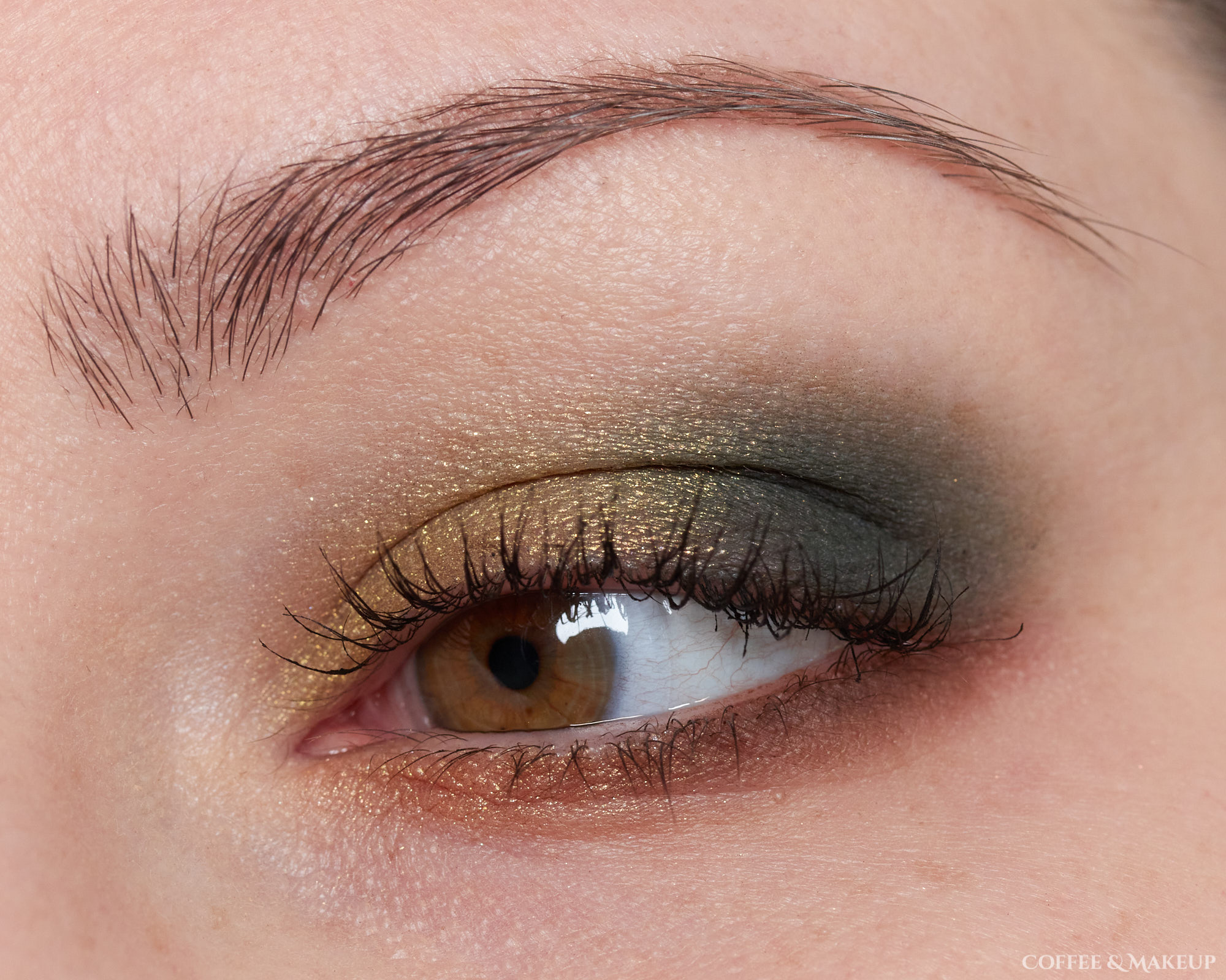 Milani Outlaw Olive Most Wanted Eyeshadow Palette Look