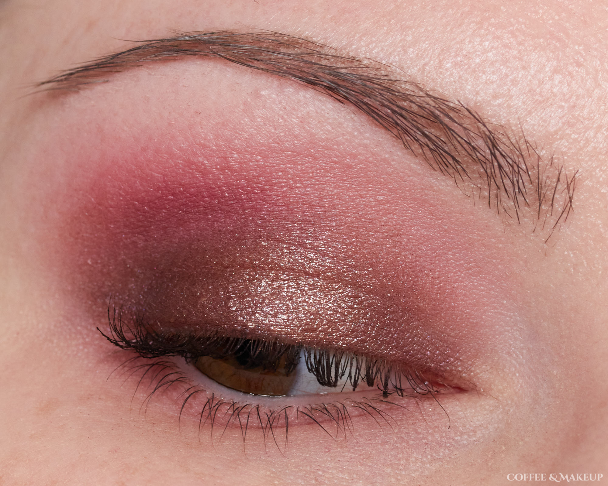 Milani Rosy Revenge Most Wanted Eyeshadow Palette Look