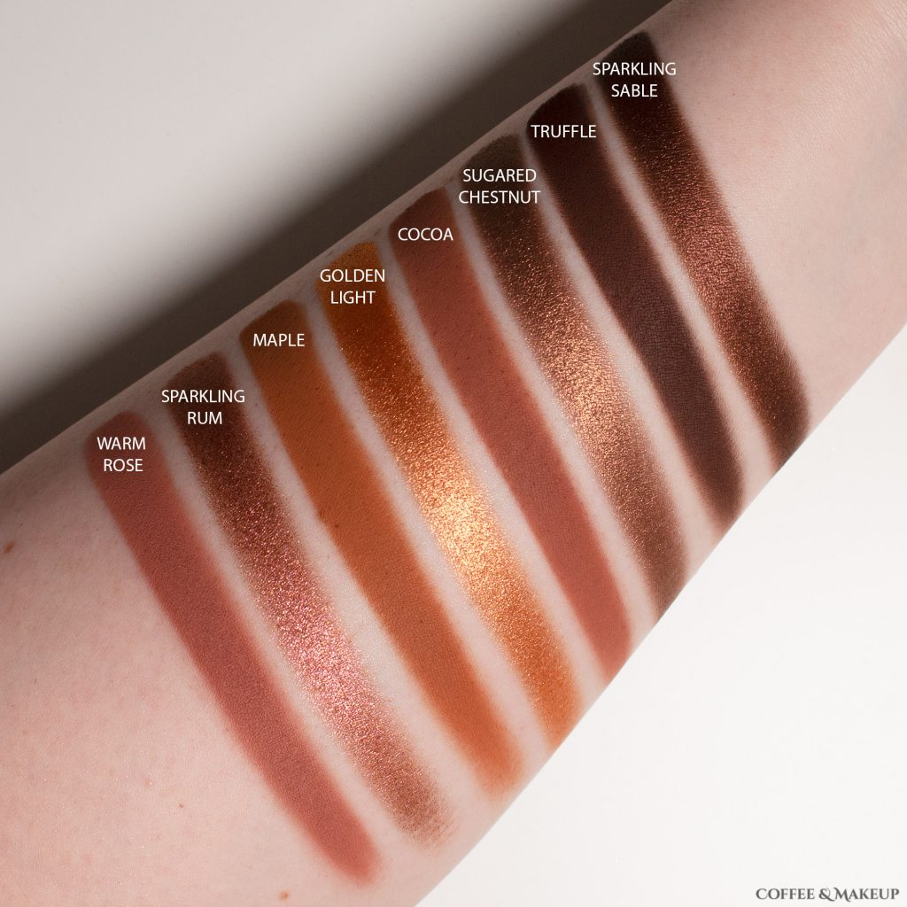 Too Faced Born This Way The Natural Nudes Eyeshadow Palette Swatches