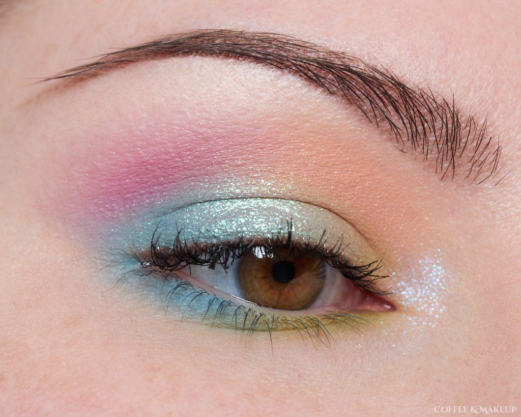 Makeup Geek Soft Focus Colors and Devinah Xploders Look #1