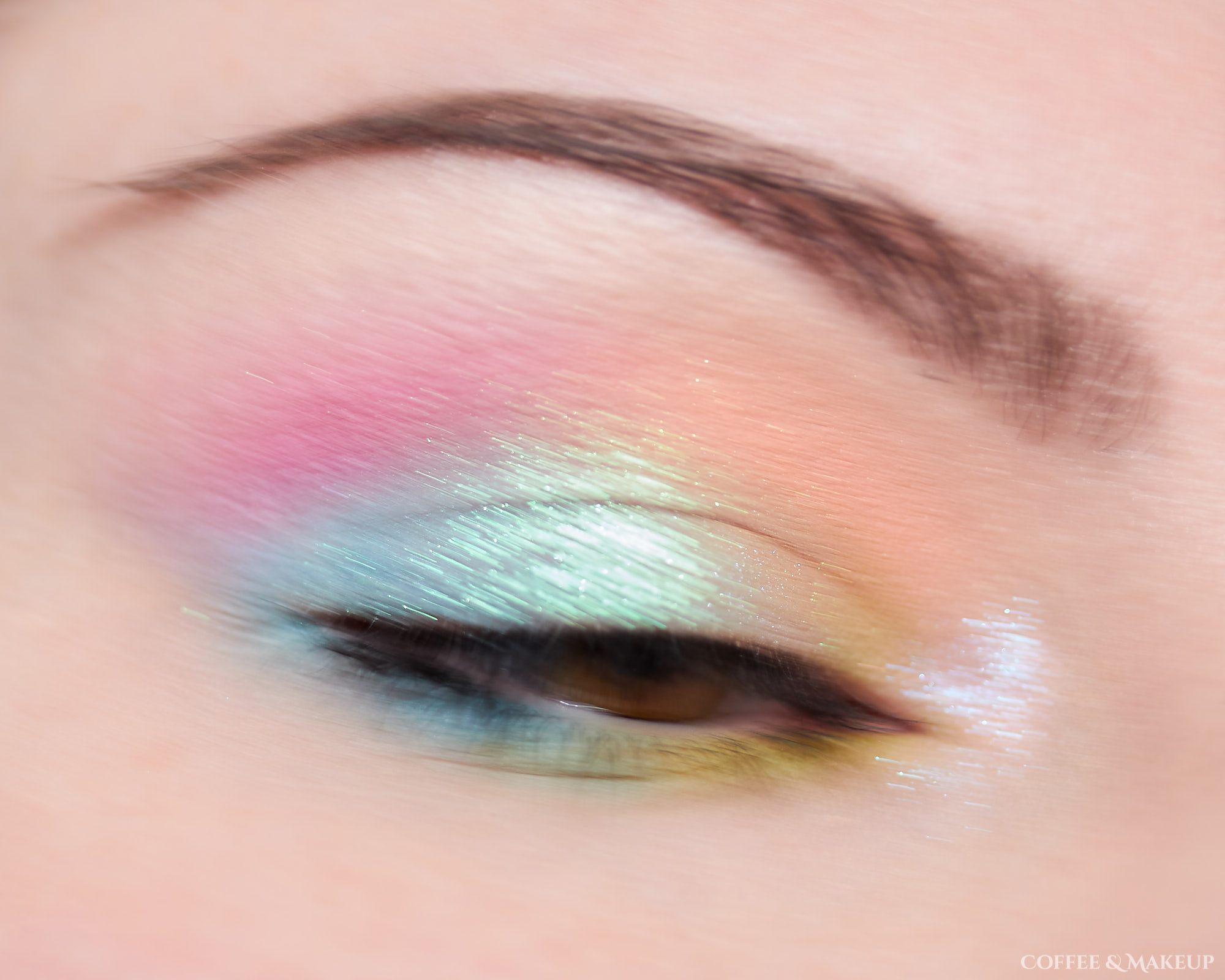 Makeup Geek Soft Focus Colors and Devinah Xploders Look #1