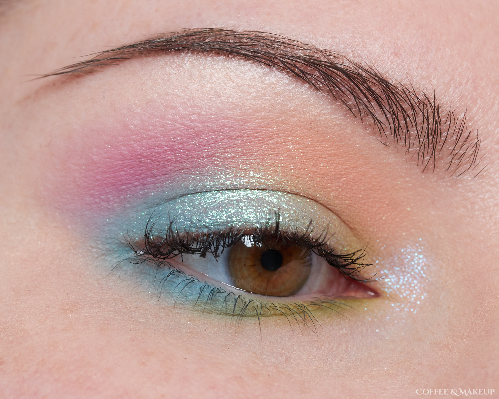 Makeup Geek Soft Focus Colors and Devinah Xploders Look #1 (unedited)