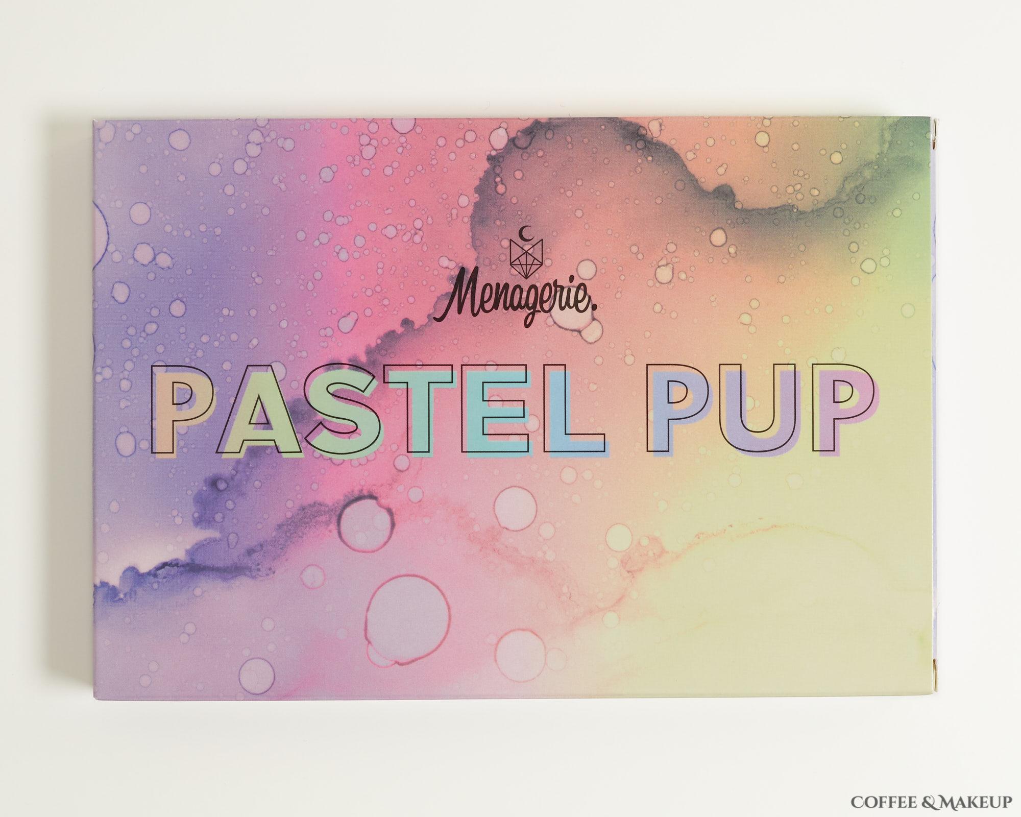 Menagerie Cosmetics Pastel Pup Palette