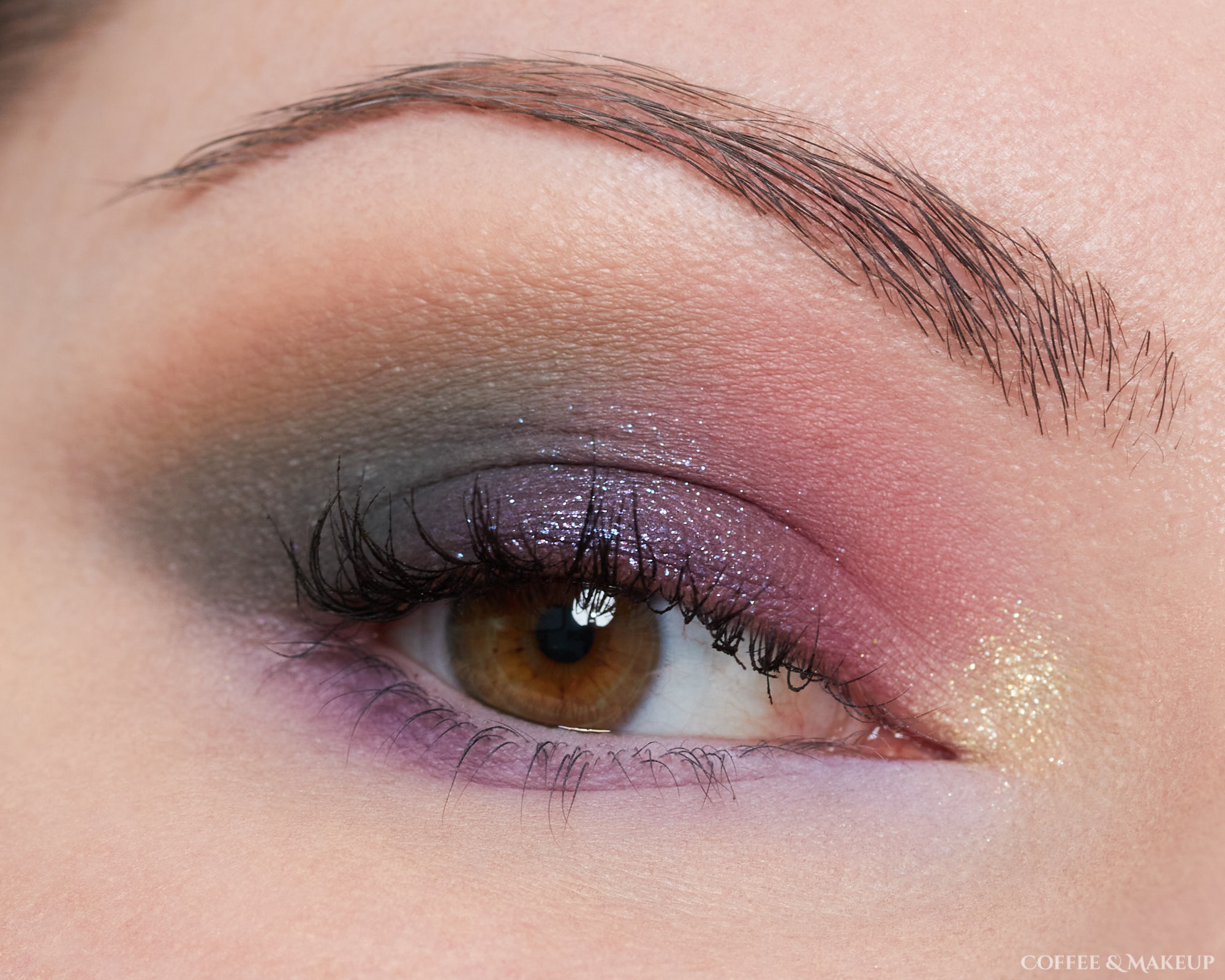 NYX Ultimate Utopia Palette Look #1