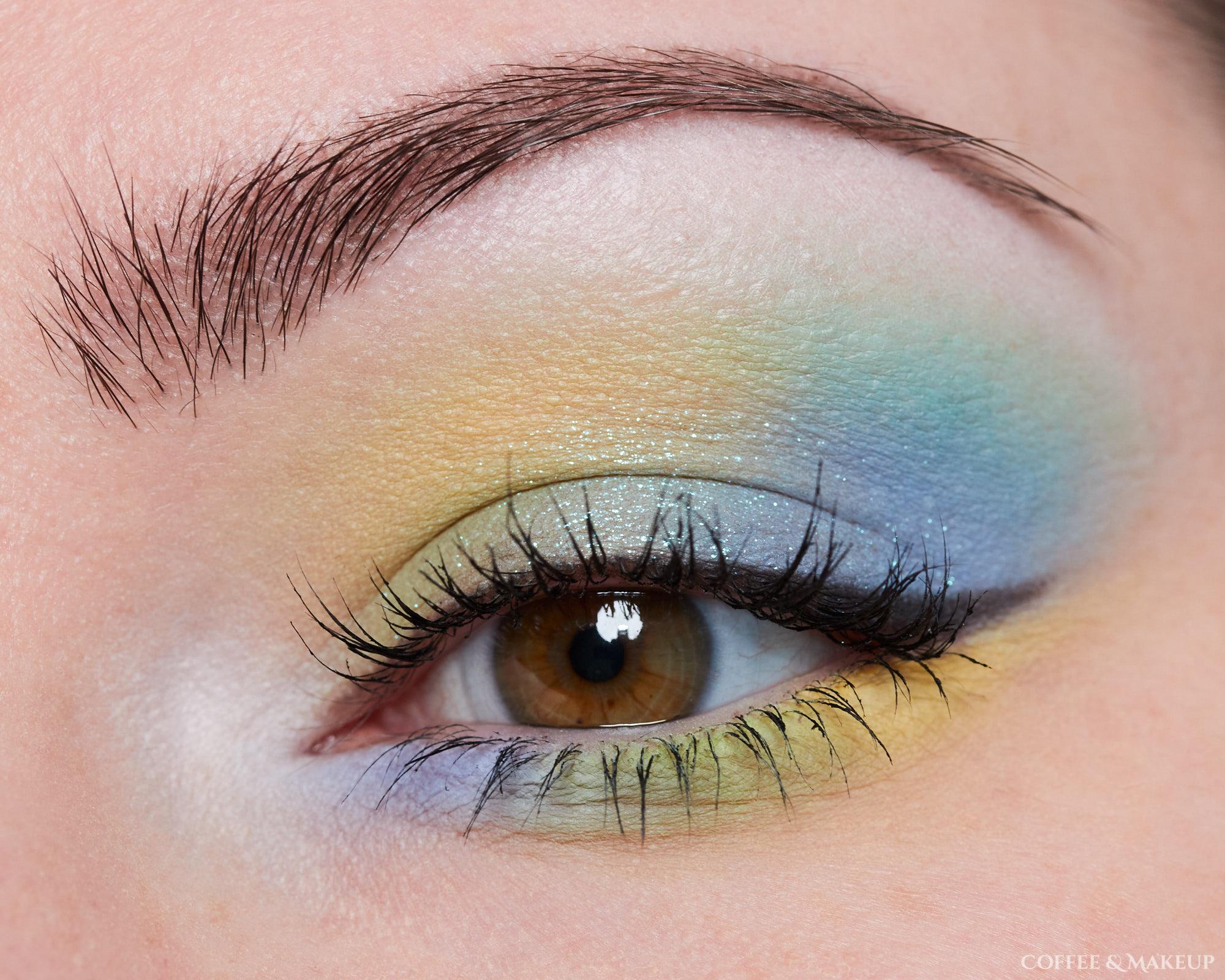 Menagerie Cosmetics Pastel Pup Palette Look #1