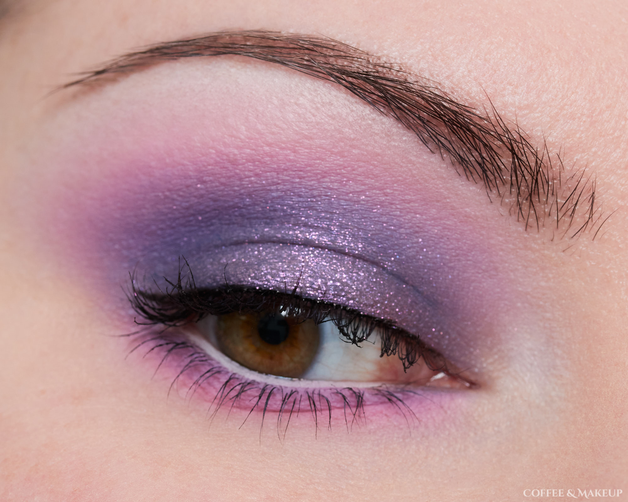 Menagerie Cosmetics Violet Ink Palette Look #2
