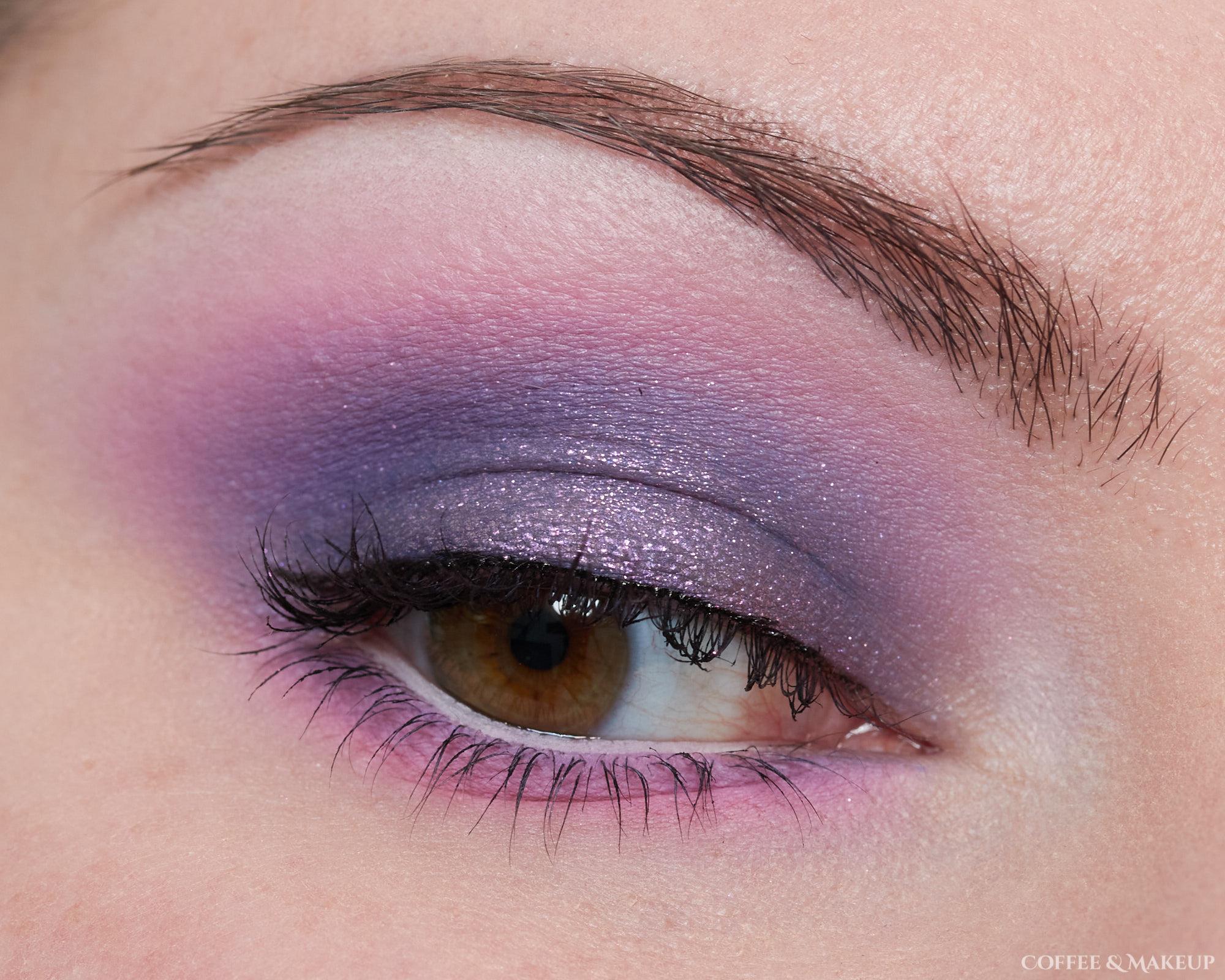 Menagerie Cosmetics Violet Ink Palette Look #2 (unedited)