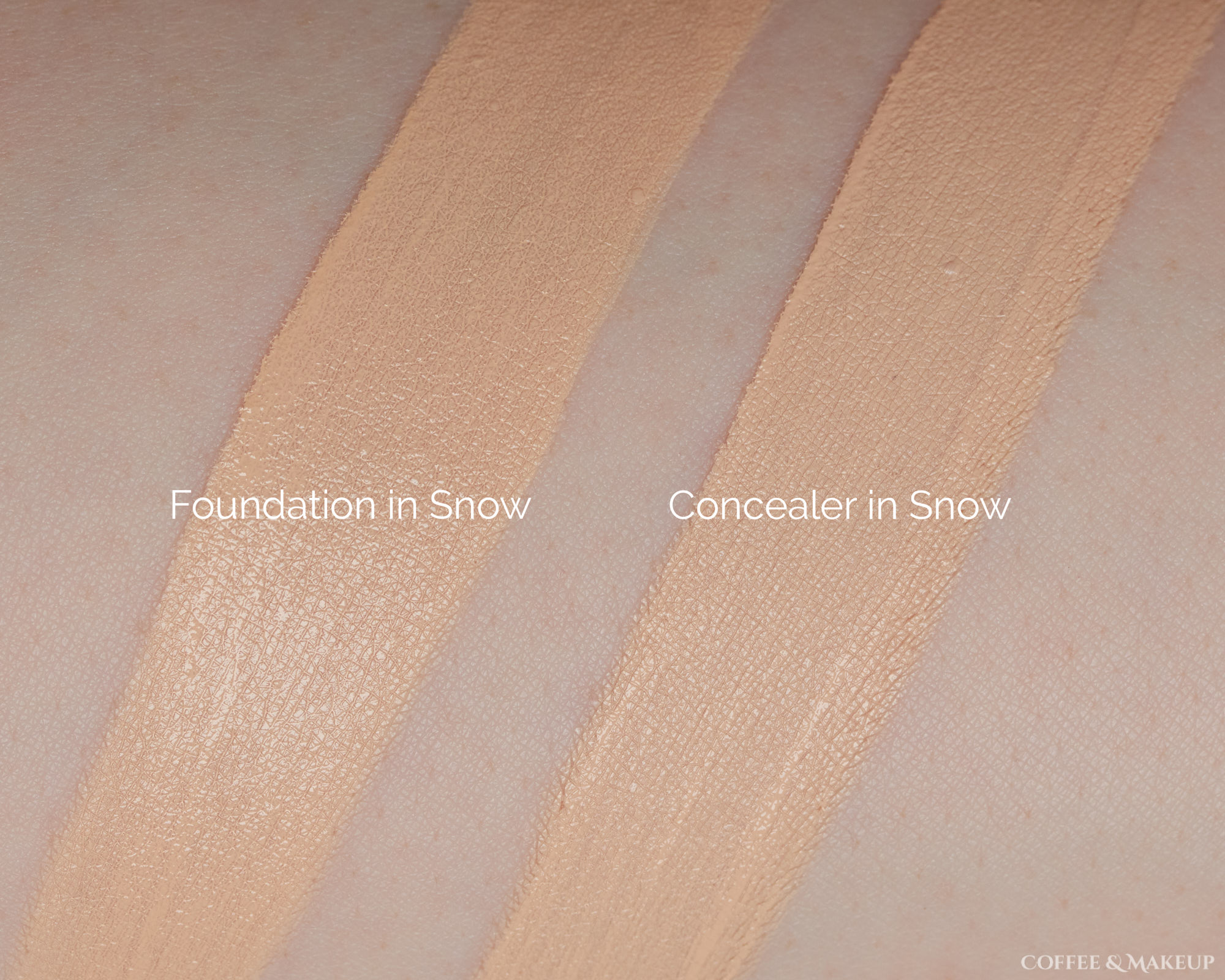 Too Faced Born This Way Matte Foundation Swatch