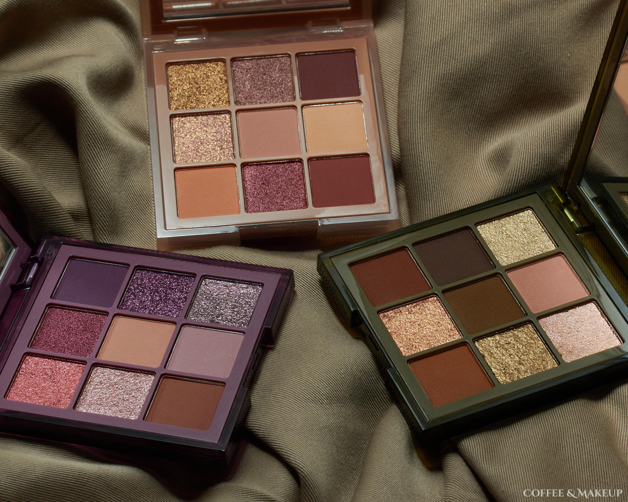 Huda Beauty Haze Obsessions Palettes