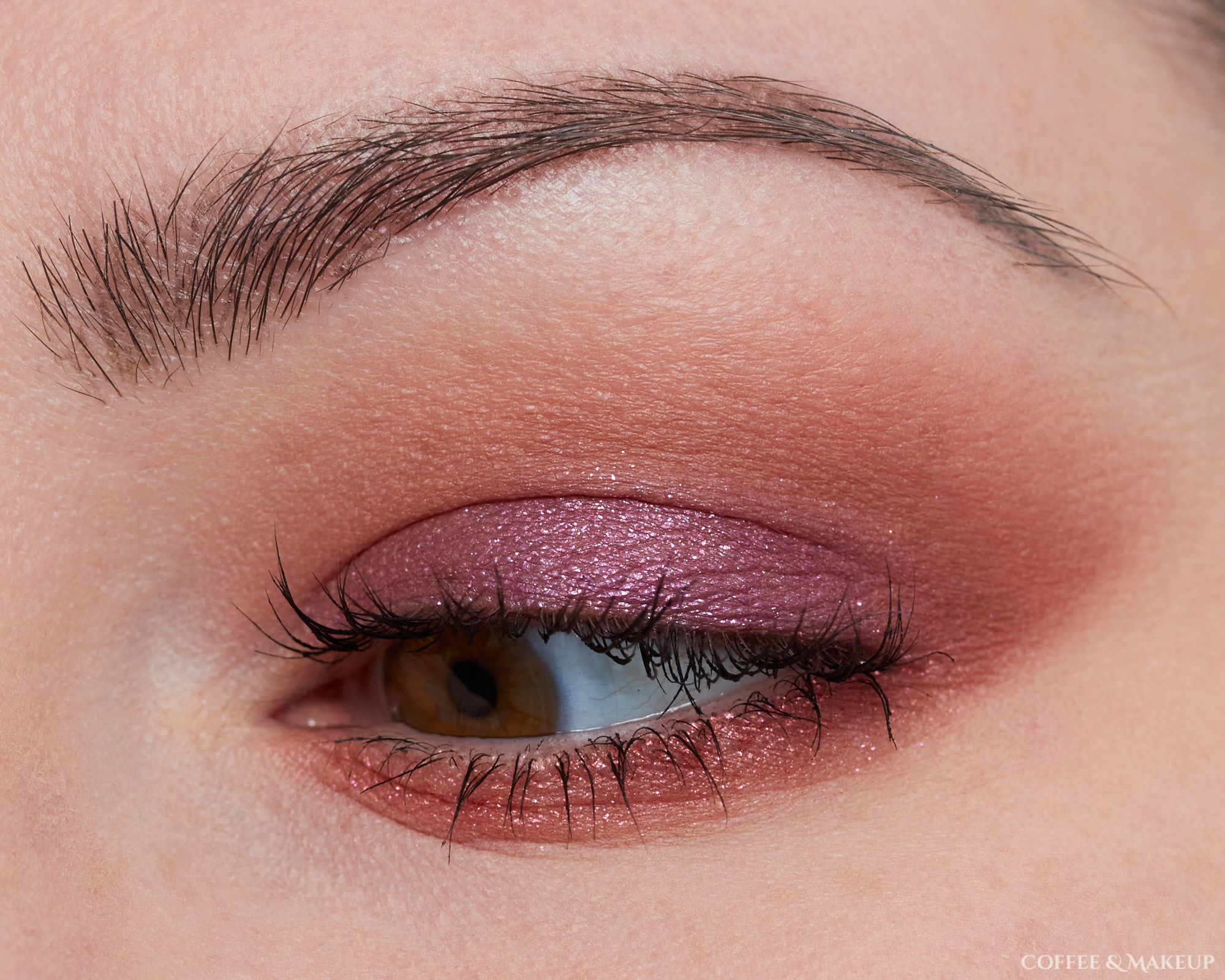 Huda Beauty Purple Haze Palette Look #2