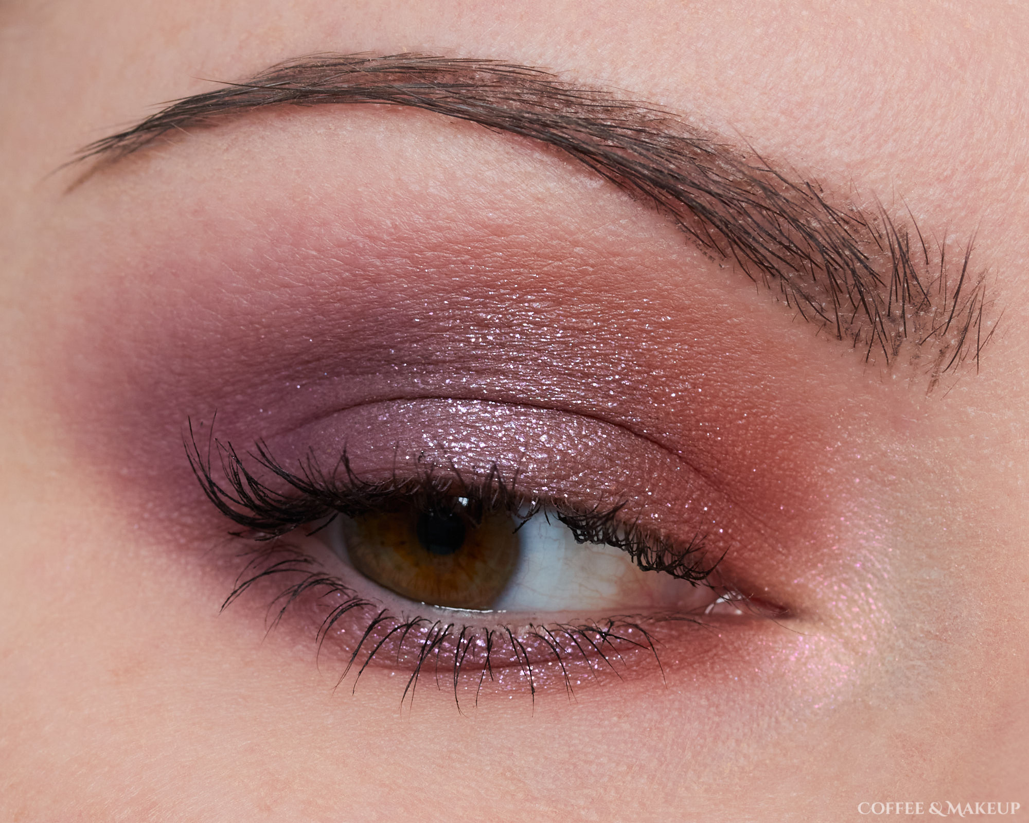Huda Beauty Purple Haze Palette Look #3
