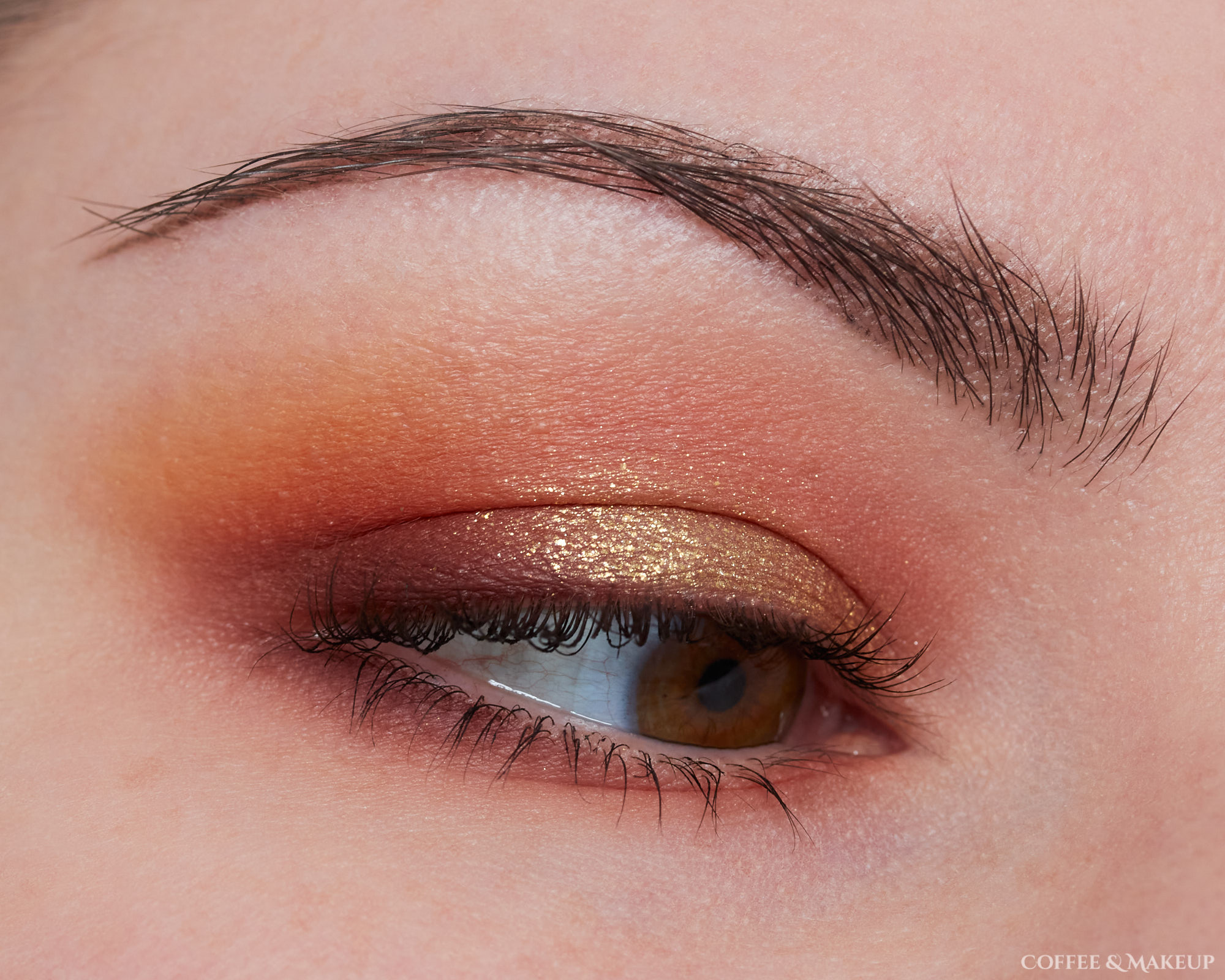 Too Faced Pumpkin Spice Palette Look #1