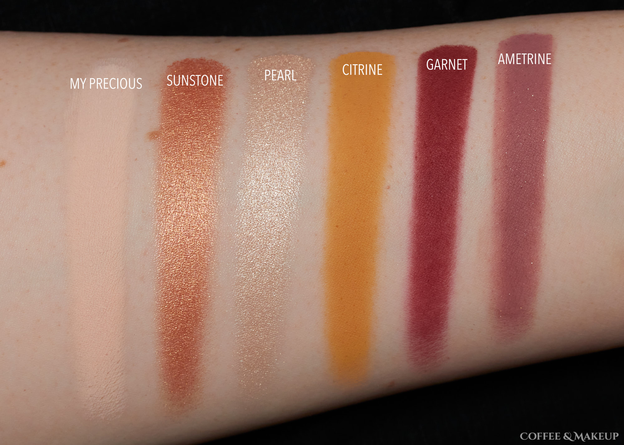 Row 2 | ColourPop So Jaded Palette Swatches