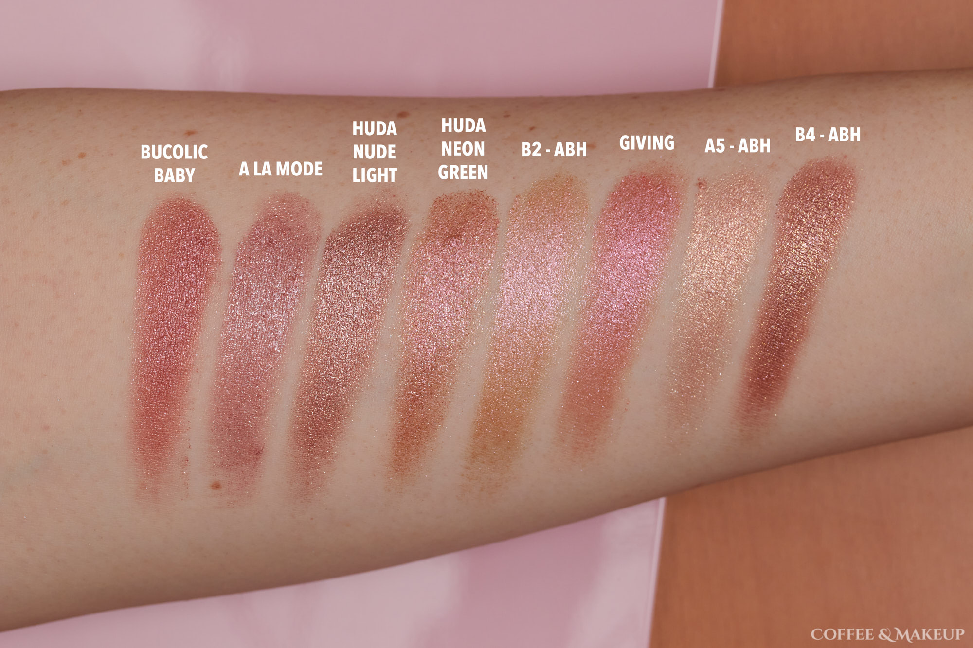 Bucolic Baby Dupes and Comparisons | Nabla Wild Berry Cutie Palette