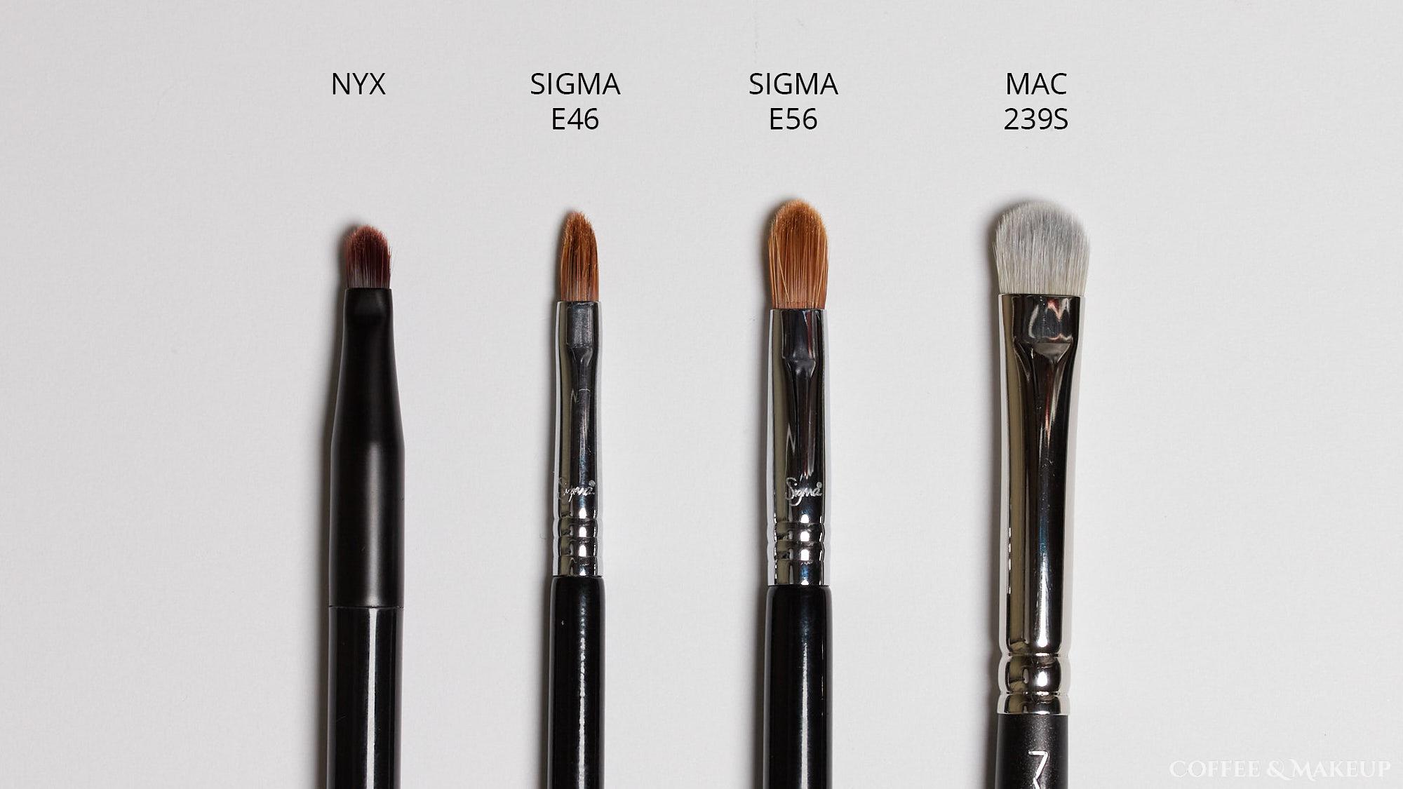 Sigma E46 Brush Comparisons
