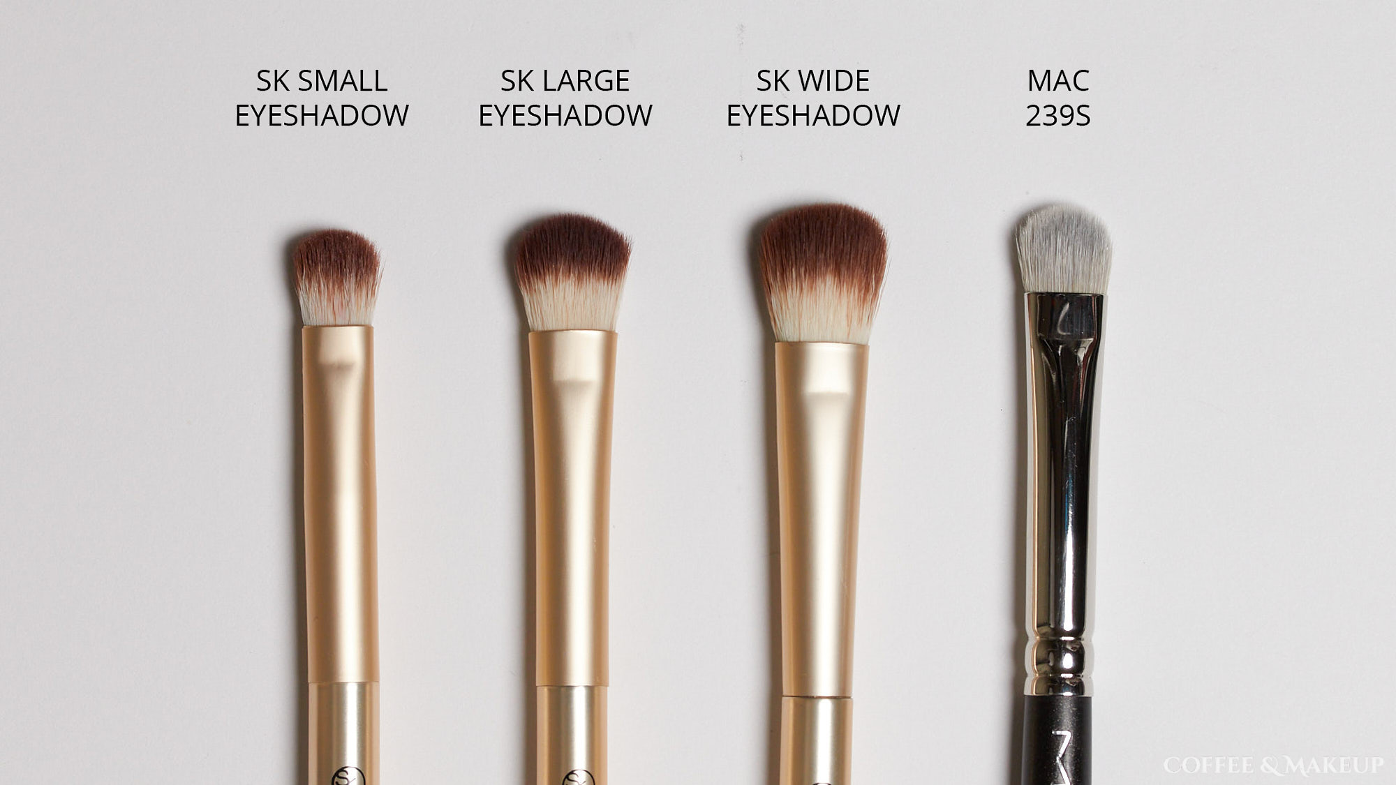 Sonia Kashuk Small Eyeshadow Brush Comparisons