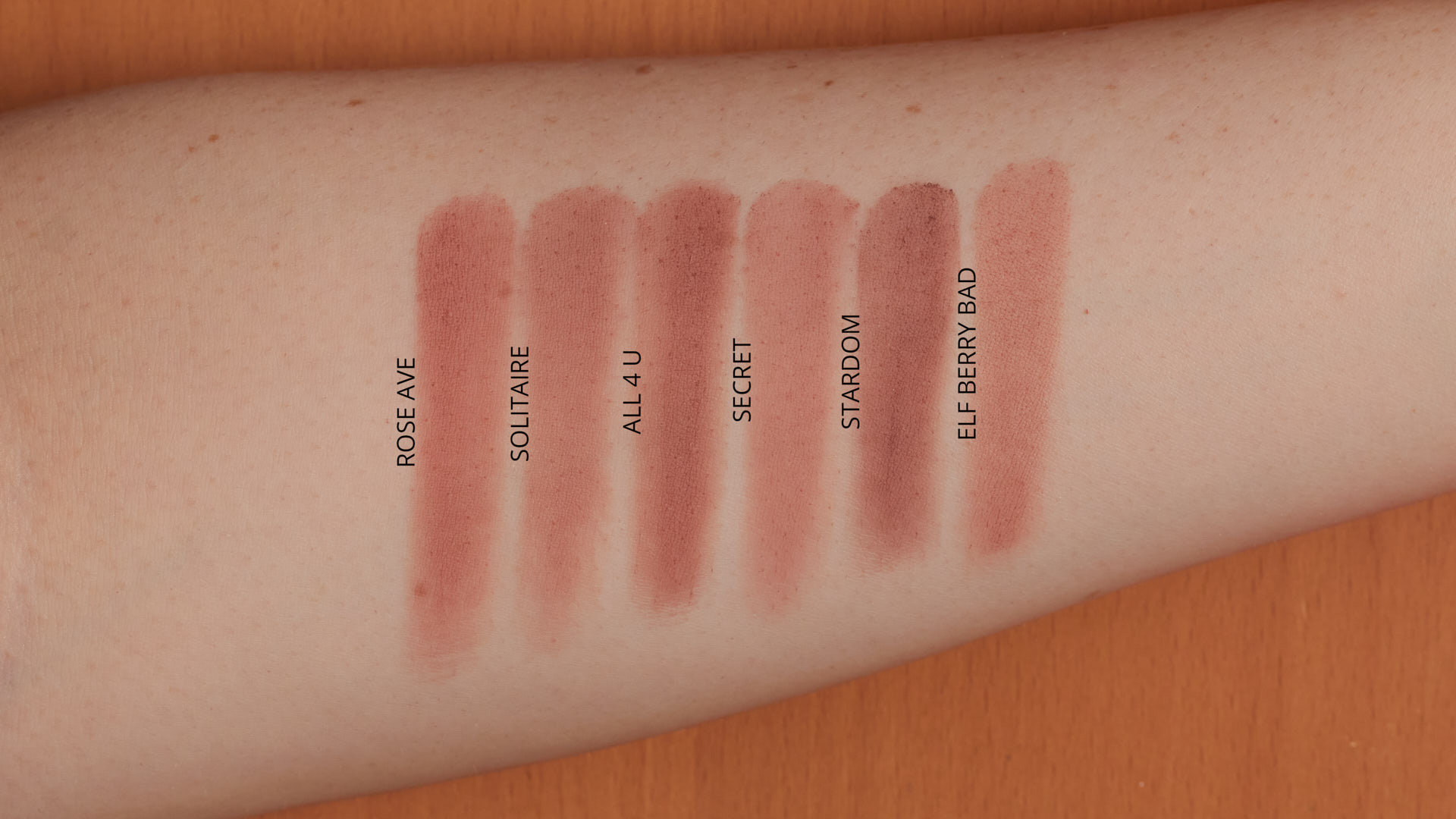 Dupes and Comparison for ColourPop Rose Ave | ColourPop So Very Lovely Palette