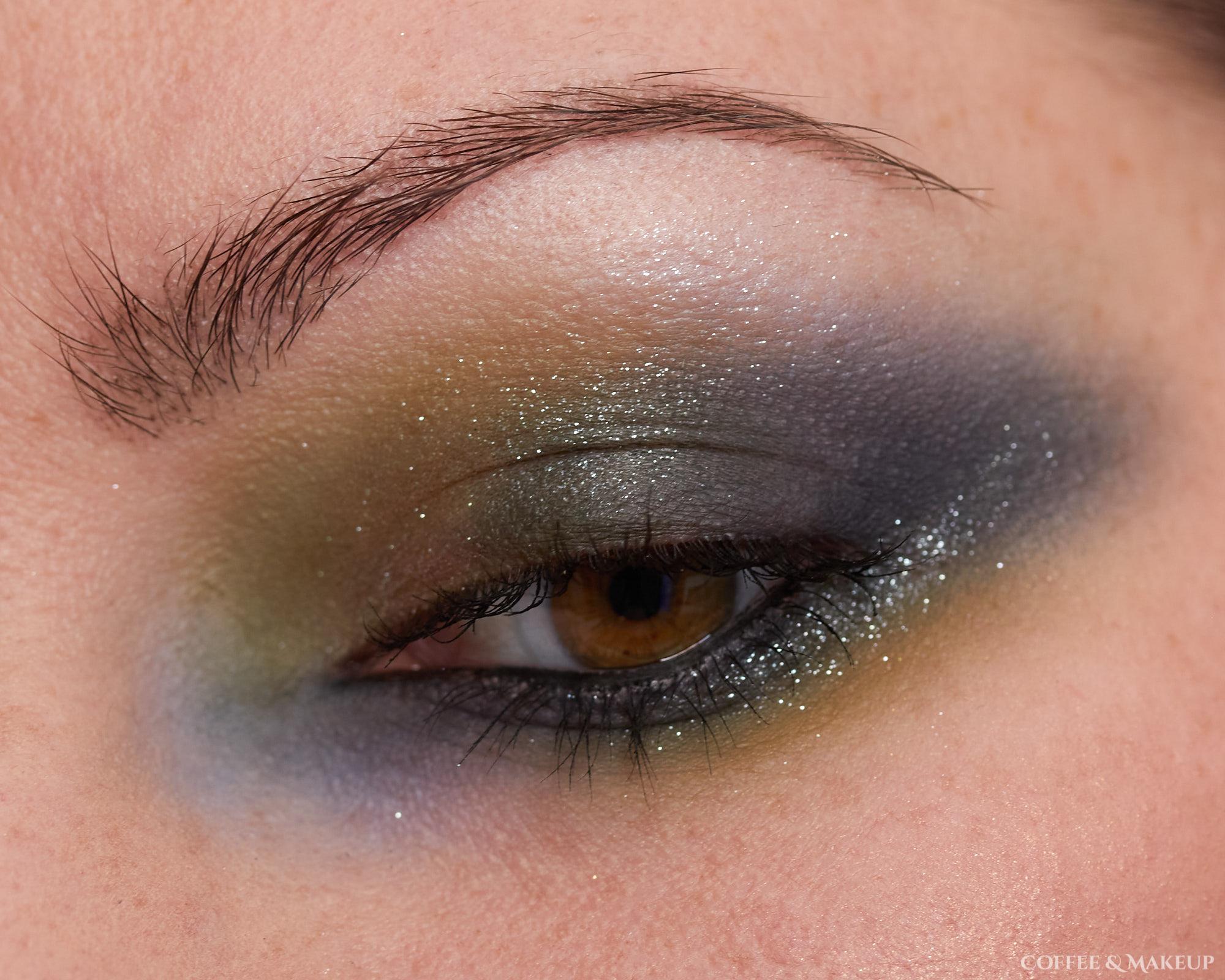 Elf Bite Size Eyeshadow + Fenty Diamond Bomb Highlighter Look