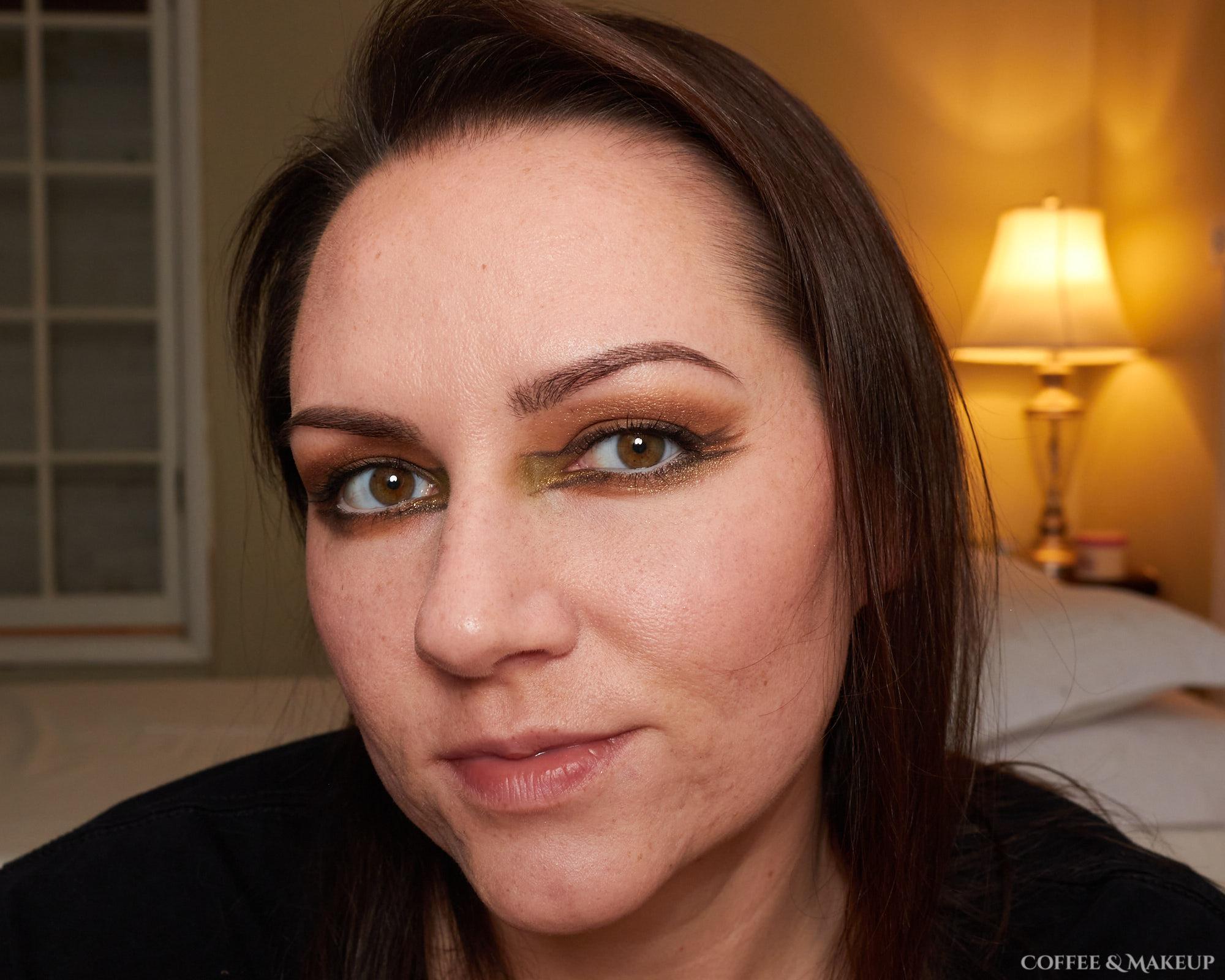 Natasha Denona Mini Gold Palette Look #1