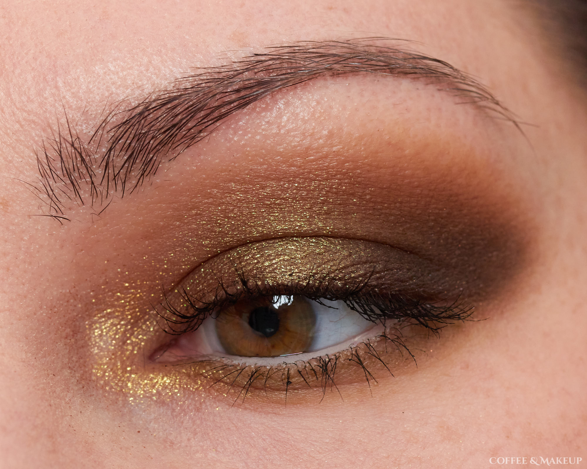 Natasha Denona Mini Gold Palette Look