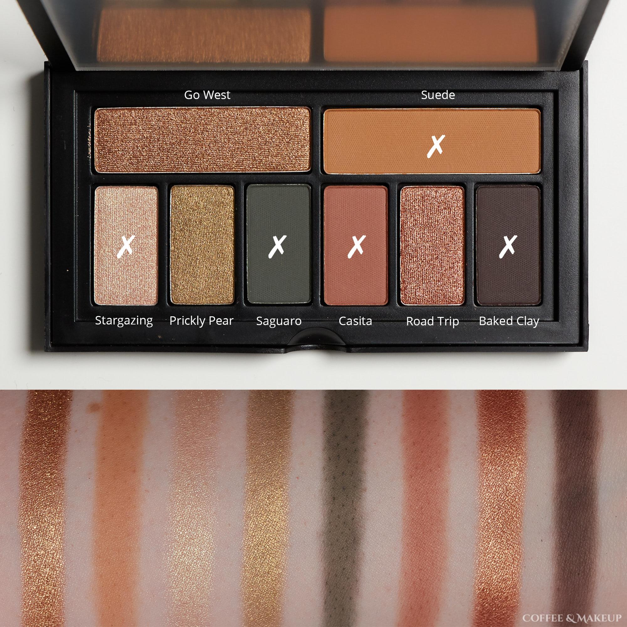 Smashbox Desert Palette Look #1