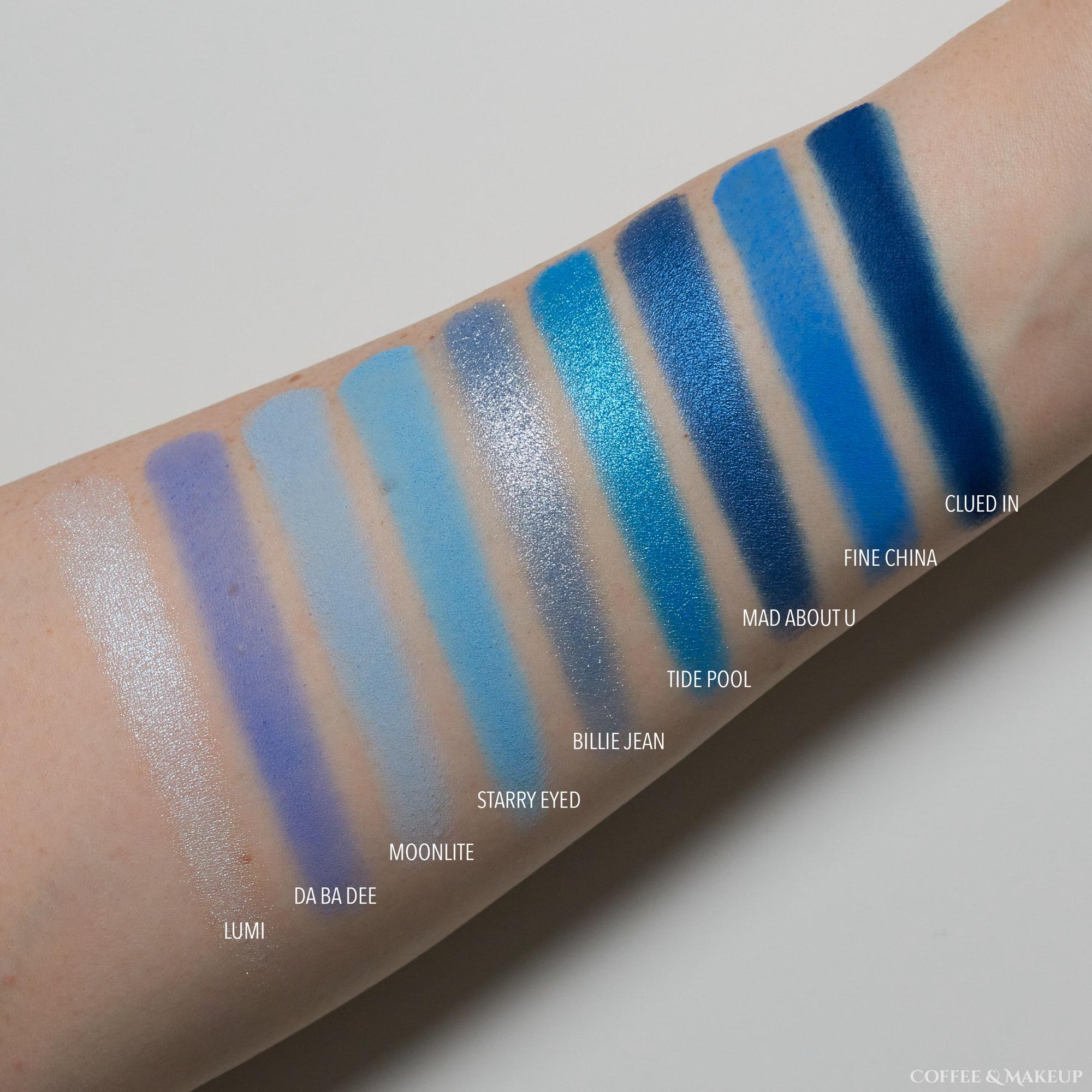 ColourPop Blue Moon Palette Swatches
