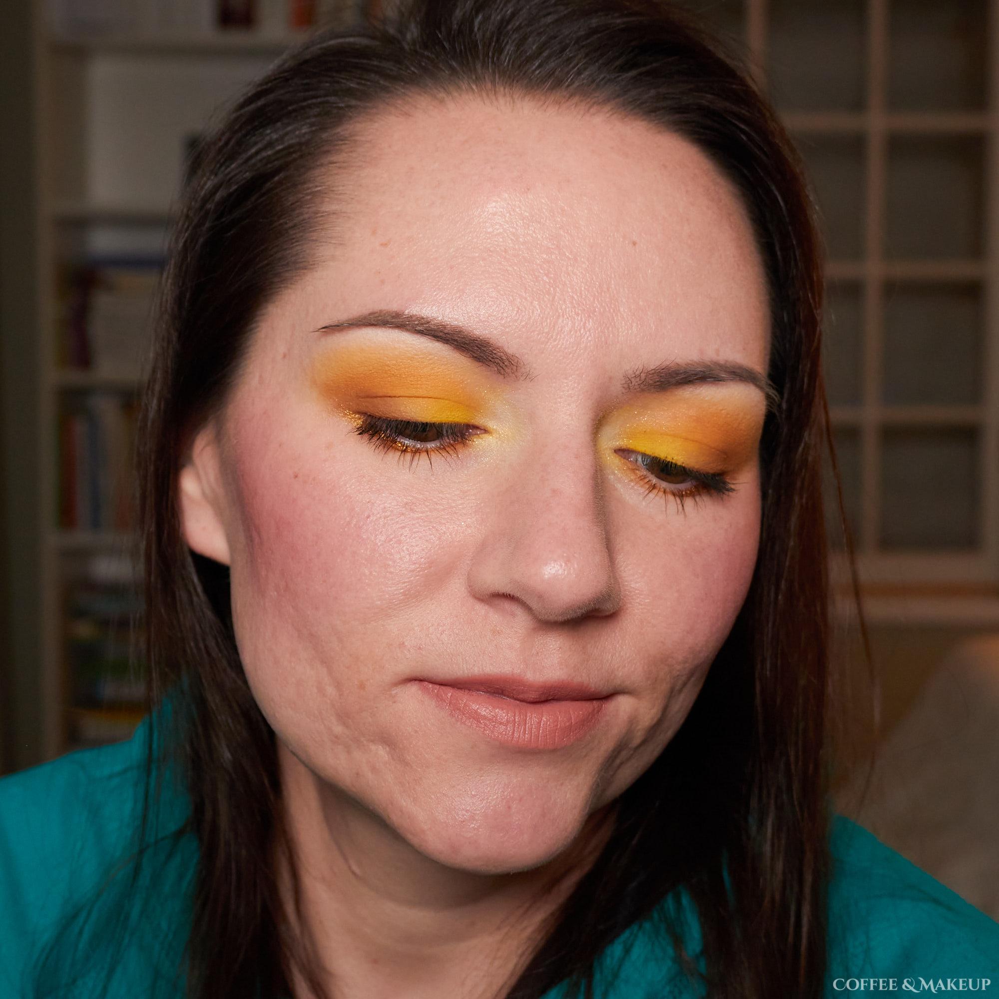 ColourPop Uh Huh Honey Palette Look #1